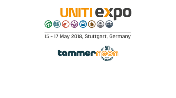 50 year old Tammerneon participates Uniti Expo 2018